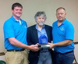 2013 Water Treatment Plant award